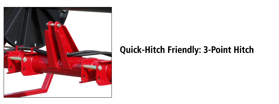 Hose Caddy 3-Point Hitch